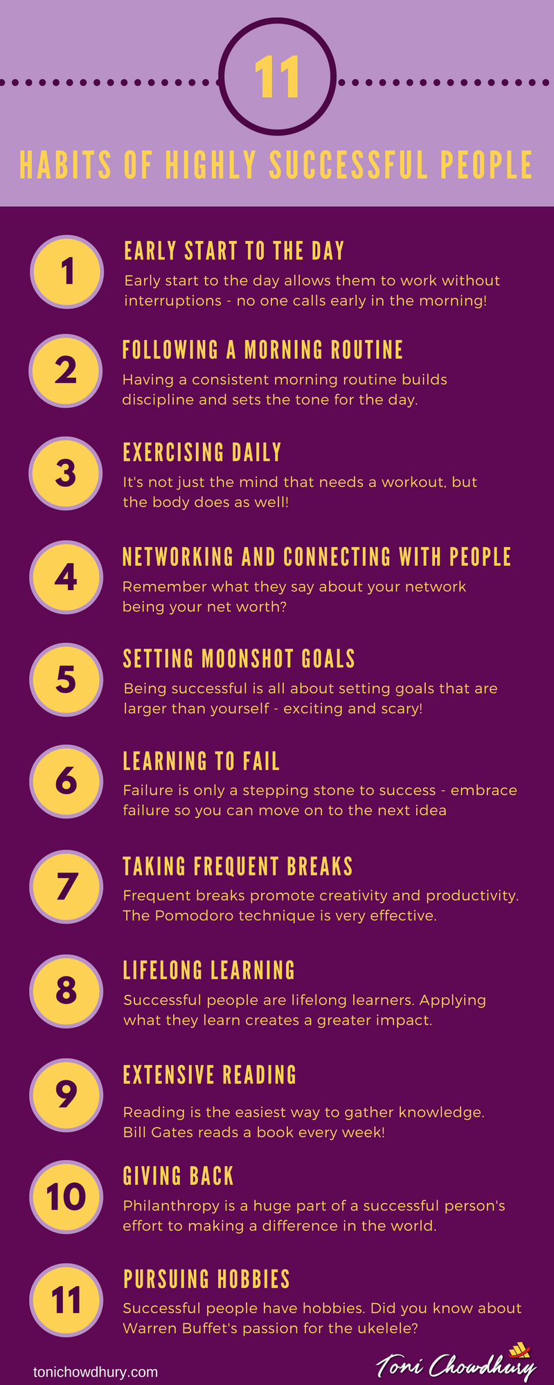 11 Habits of Successful People