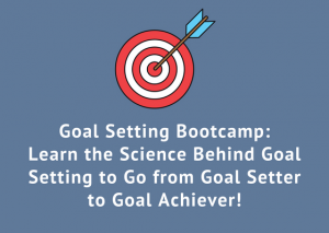 Goal setting bootcamp - hands-on workshop in Montreal